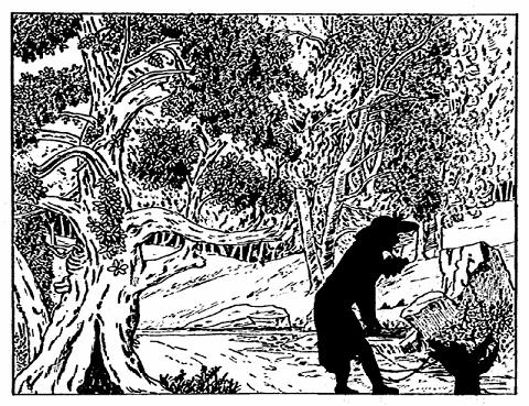 l`âne embourbé saynète Paul Eudel ombres chinoises théâtre d`ombres silhouettes marionnettes free