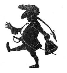 Homme en théâtre d`ombres silhouettes ombres chinoises marionnettes