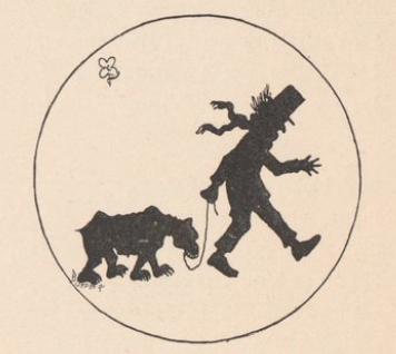 La ballade de l`ours, homme, ours, animal, ombres chinoises, theatre d`ombres, fragerolle, chansons de paris, silhouettes, marionnettes, free