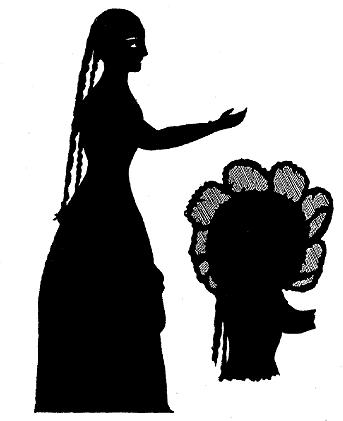 Bétinette, princesse, ombre chinoise, theatre d`ombres, silhouette, marionnette