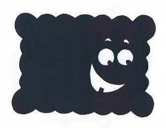 biscuit en théâtre d`ombres ombres chinoises silhouettes marionnettes
