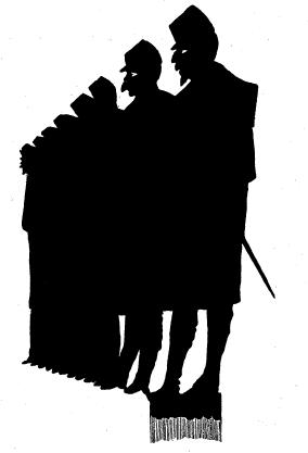 gruupe, hommes, lemercier de neuville, ombres chinoises, theatre d`ombres, silhouettes, marionnettes