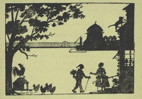 La fête de Catherine Lemercier de Neuville Jean Kerhor ombres chinoises théâtre d`ombres silhouettes marionnettes free