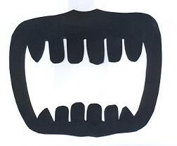 dents en théâtre d`ombres ombres chinoises marionnettes, silhouettes