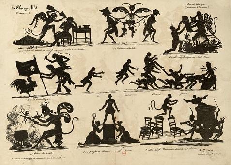 diableries, michel delaporte, silhouettes, marionnettes, ombres chinoises, theatre d`ombres, silhouettes, marionnettes