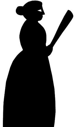 femme personnage en théâtre d`ombres ombres chinoises silhouette marionnette