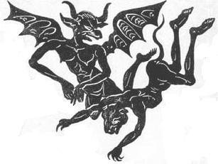 diables en ombres chinoises theatre d`ombres silhouettes marionnettes
