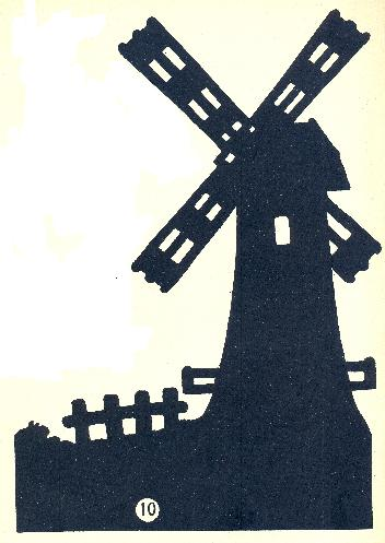 Don Quichotte en th��tre d`ombres ombres chinoises silhouettes marionnettes