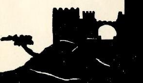 ville forteresse bible en théâtre d`ombres silhouettes ombres chinoises marionnettes