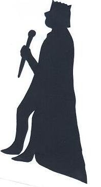 César bible nativité en théâtre d`ombres ombres chinoises silhouettes marionnettes