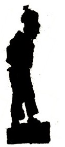 Erwann, garçon, homme, conte breton, bretgne en theatre d`ombres, ombres chinoises, silhouettes, marionnettes, free