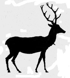 cerf animal paul eudel ombres chinoises théâtre d`ombres silhouettes marionnettes free