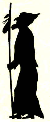 pélerin, religieux, homme, animal, ombres chinoises, theatre d`ombres puppet shadow, silhouette, marionnette, free