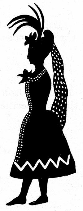 femme dame princesse en théâtre d`ombres ombres chinoises silhouettes marionnettes