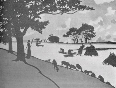 sainte genevière, henri rivière, théâtre d`ombres, ombres chinoises, chat noir, silhouettes, marionnettes
