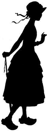 femme fille en theatre d`ombres ombres chinoises silhouettes marionnettes free