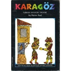 Karagoz Metin And livre en théâtre d`ombres ombres turques silhouettes marionnettes