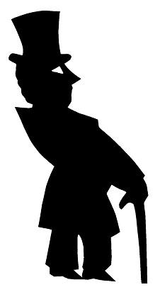 européen homme karagoz en théâtre d`ombres ombres chinoises marionnettes silhouettes