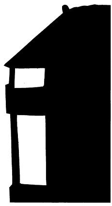 maison karagoz en théâtre d`ombres ombres chinoises marionnettes silhouettes