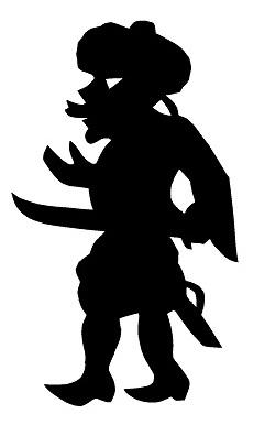 karagoz sabreur homme en ombres chinoises théâtre d`ombres silhouettes marionnette