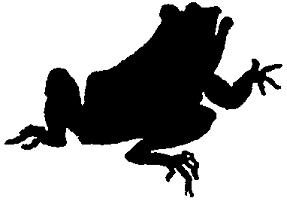 grenouille, crapaud en ombres chinoises, silhouettes, théâtre d`ombres, marionnettes, Rackham