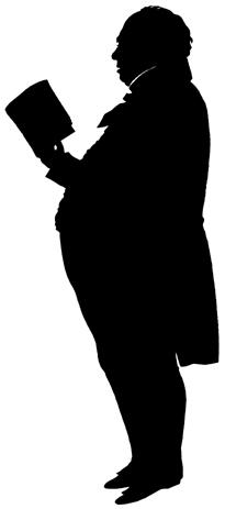 lecteur en théâtre d`ombres ombres chinoises silhouette marionnette