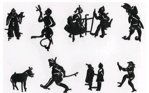 marionnettes ombres chinoises, theatre d`ombres puppet shadow, silhouette, marionnette, free