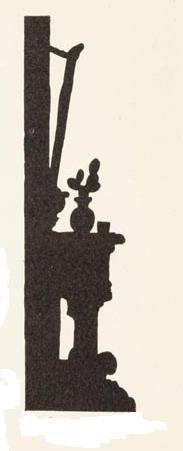 miroir décor en théâtre d`ombres ombre chinoise silhouette marionnette