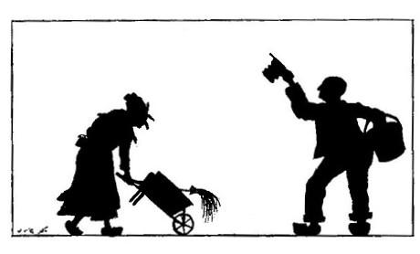 Le mort récalcitrant Paul Eudel en théâtre d`ombres ombres chinoises silhouettes marionnettes