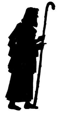 Joseph bible nativite noel en theatre d`ombres ombres chinoises marionnettes silhouettes