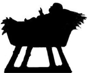jésus enfant christ bible nativite noel en theatre d`ombres ombres chinoises marionnettes silhouettes
