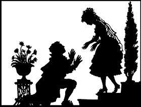 Les noces de Figaro, Tamino, Lotte Reiniger, ombres chinoises, theatre d`ombres, silhouettes, marionnettes, opéras, Mozart