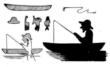 ombromanie, scène, ombre chinoise, theatre d`ombres, silhouette, marionnette