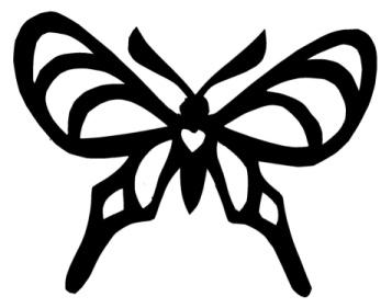 papillon insecte insecte en ombres chinoises théâtre d`ombres silhouettes marionnette