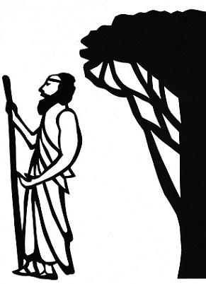 poète Michès, arbre décor, phryné, ombres chinoises, theatre d`ombres, silhouettes, marionnettes, louis morin