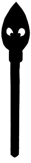 pinceau outil en theatre d`ombres ombres chinoises silhouettes marionnettes