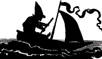 voilier, navigateur solitaire, silhouette, ombre chinoise, théâtre d`ombres, silhouette, marionnette, free