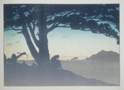 le fils prodigue, pièce d`ombres chinoises, theatre d`ombres, silhouettes, marionnettes, rivière, fragerolle