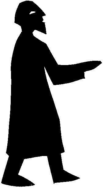 prophète Elie en ombre chinoise