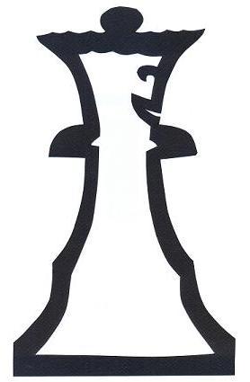 reine blanche échecs en théâtre d`ombres ombres chinoises silhouettes marionnettes
