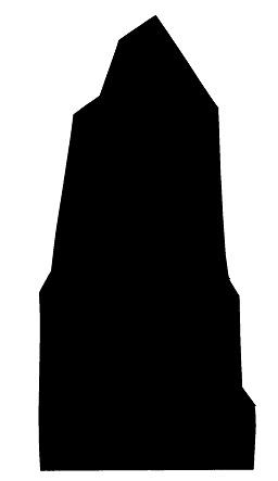 rocher en théâtre d`ombres ombres chinoises silhouette marionnette