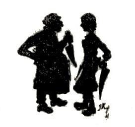 bouchers Jean Kerhor en theatre d`ombres ombres chinoises silhouettes marionnettes