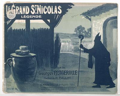 saint nicolas en ombres chinoises, theatre d`ombres, silhouettes, marionnettes