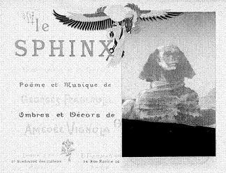 le sphinx, theatre d`ombres, ombres chinoises, theatre du chat noir