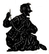 tailleurs assis theatre d`ombres ombres chinoises marionnettes silhouettes seraphin pièce de theatre saynète free