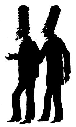 policiers, gruupe, hommes, lemercier de neuville, ombres chinoises, theatre d`ombres, silhouettes, marionnettes