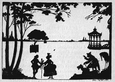 Les trois souhaits Lemercier de Neuville Jean Kerhor ombres chinoises théâtre d`ombres silhouettes marionnettes chinese shadow free