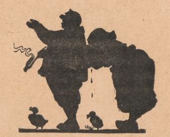 père et mère, chagrin, scène d`ombres chinoises, silhouettes, marionnettes, free