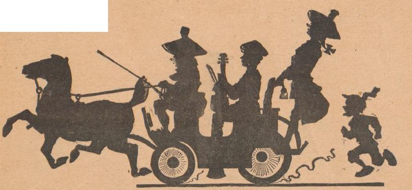 carroddr, scène d`ombres chinoises, silhouettes, marionnettes, free