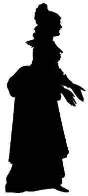 femme en theatre d`ombres ombres chinoises silhouettes marionnettes